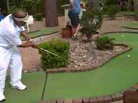 Pro minigolf, pro putt-putt, professional miniature golf
