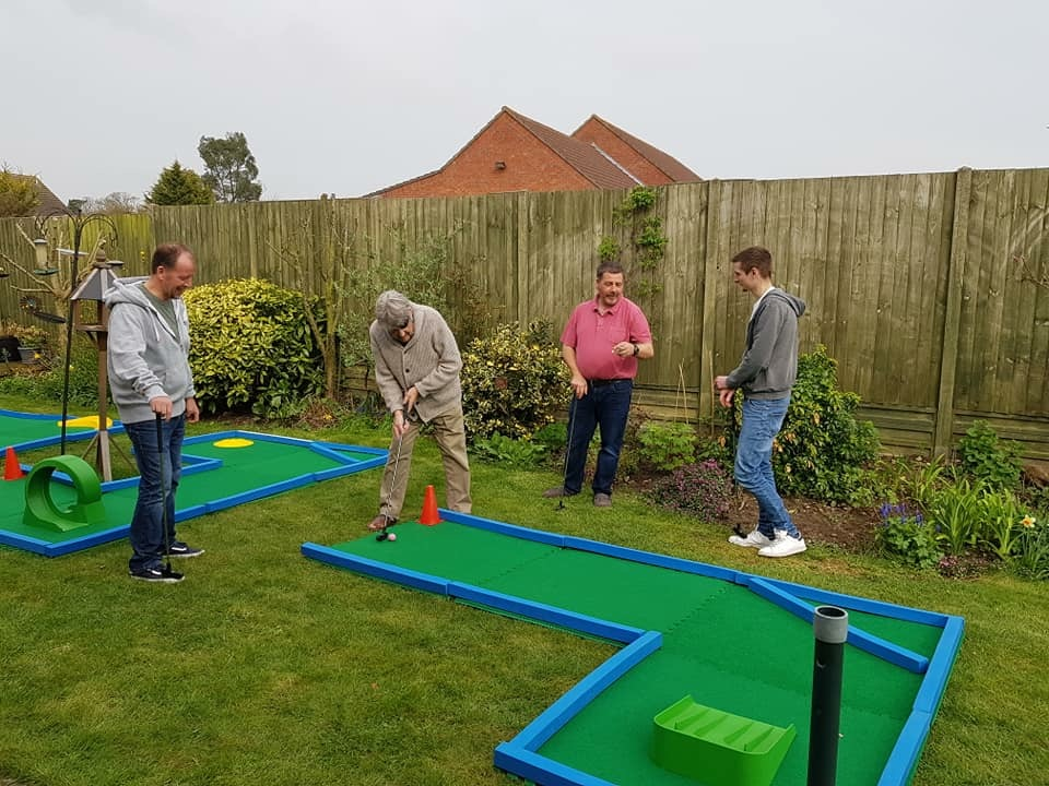 crazy golf bucket list