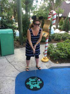 Disneyland Florida minigolf