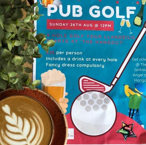 mini golf pub