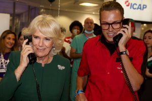 ICAP Charity Day Duchess of Cornwall