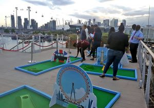 Good Hotel London rooftop crazy golf