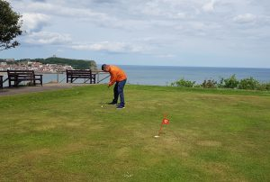 Holbeck Putting Green in Scarborough © Emily Gottfried
