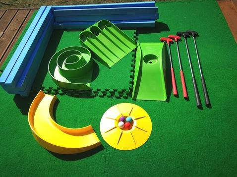 Mega home mini golf set lockdown putting