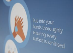 Hygiene for customers_sanitiser stations