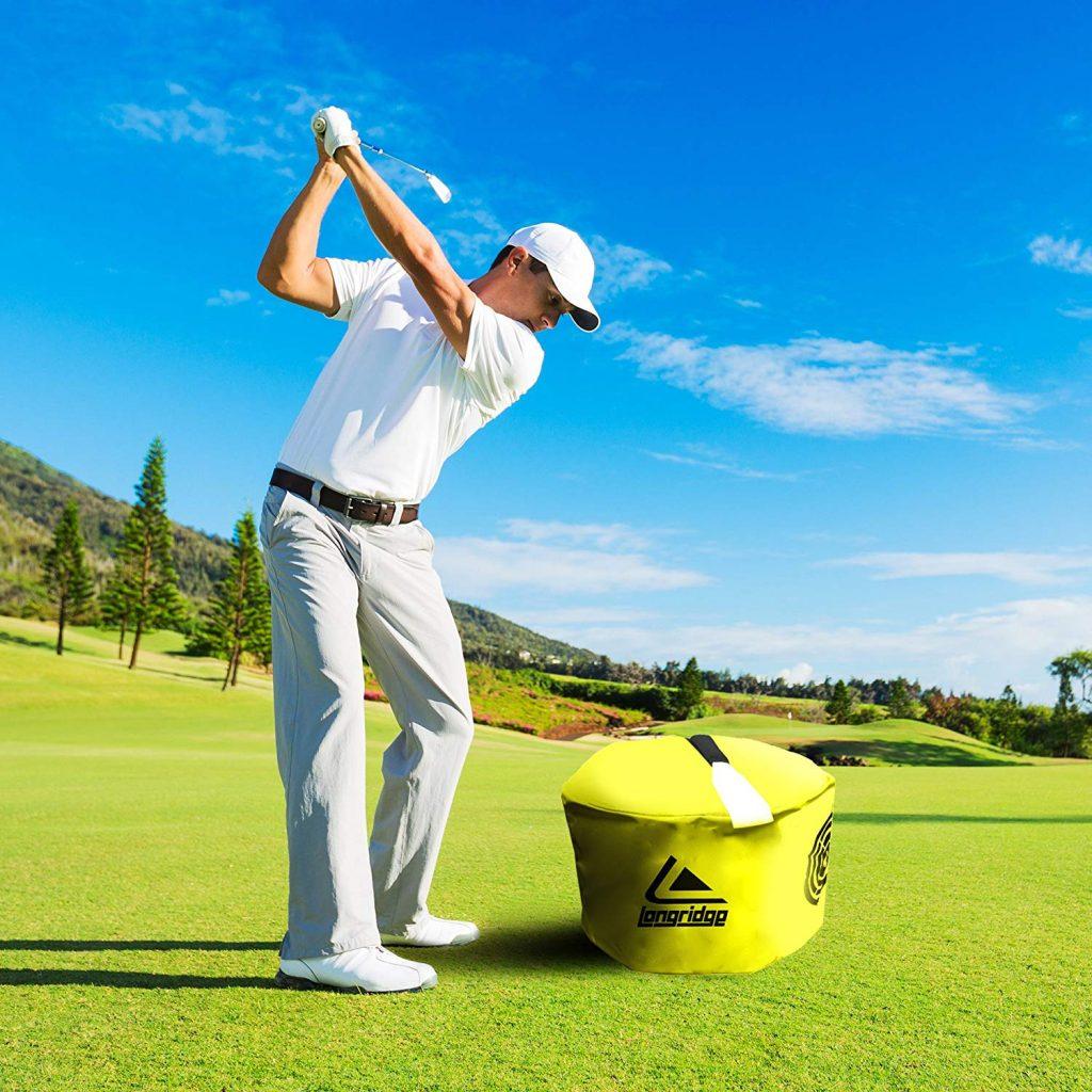 Smash bag golf training