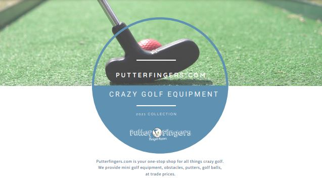 Putterfingers Crazy Golf Equipment Brochure