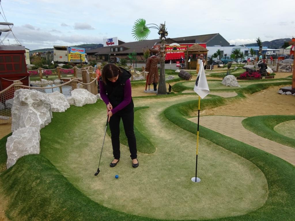 Crazy golf courses Rhyl