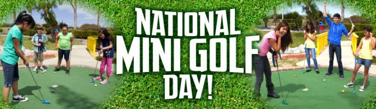 National Miniature golf day UK 2021