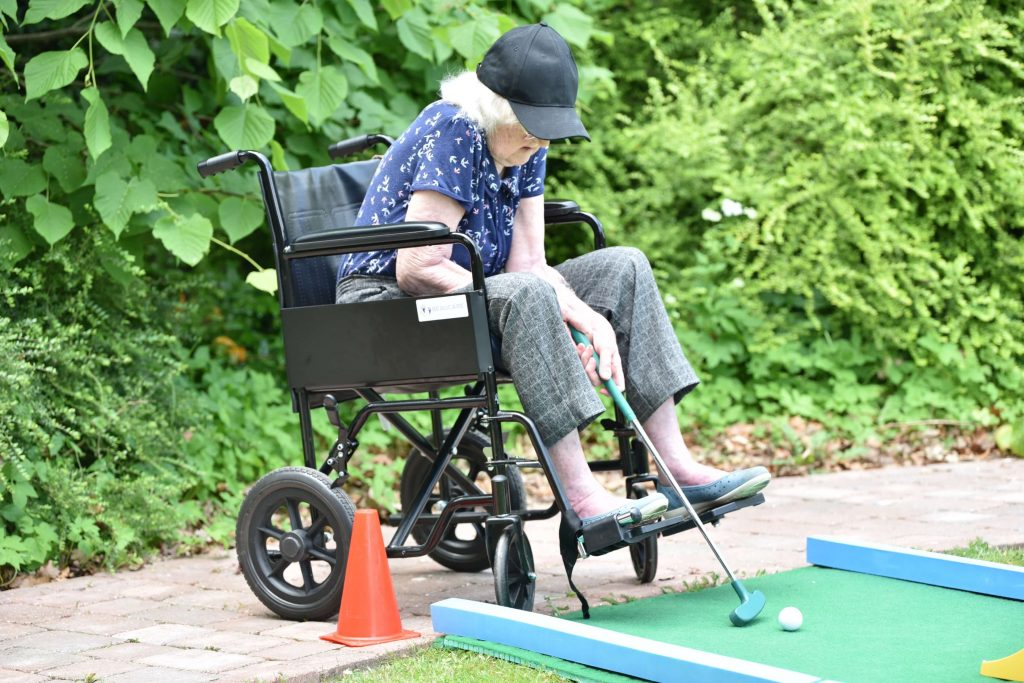 Care home games for residents