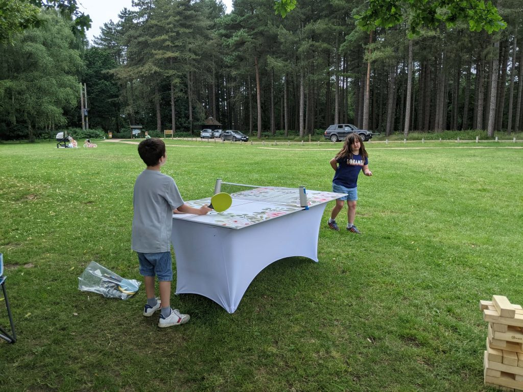 Forest party ping pong