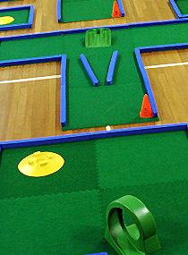 Hire a Portable Mini golf Course